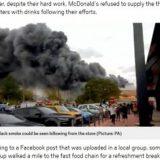【英国】マクドナルド、夜通し消火活動後の消防署員に 無料で飲み物を提供することを拒否★2