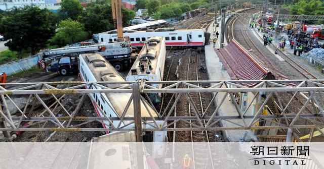 【台湾列車脱線事故】死者は先頭3両に集中 直前に運転士が「電力が不安定」と訴える 車両は日本製★3