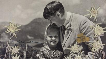 【歴史】ヒトラーはユダヤ系少女と仲良しだった……写真競売に