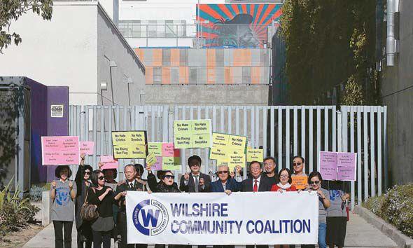 【旭日旗】米LAの公立学校に「旭日旗に似た壁画」韓国系団体が抗議活動「ナチス鉤十字と同じ!法的手段も辞さない」