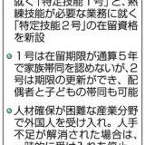 【外国人受け入れ拡大】初年度4万人想定 入管難民法改正案 国会提出 日本社会が大きく変容する可能性