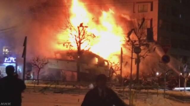 【北海道】札幌の飲食店で爆発か アパマンショップが跡形もなく…41人がけが うち1人は大けが★6