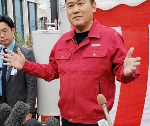 【楽天】三木谷社長「中国製使わない」 ソフトバンクとの違い強調