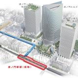 【ちかてつ】東京メトロが日比谷線に建設中の新駅の名称が「虎ノ門ヒルズ」駅に決定