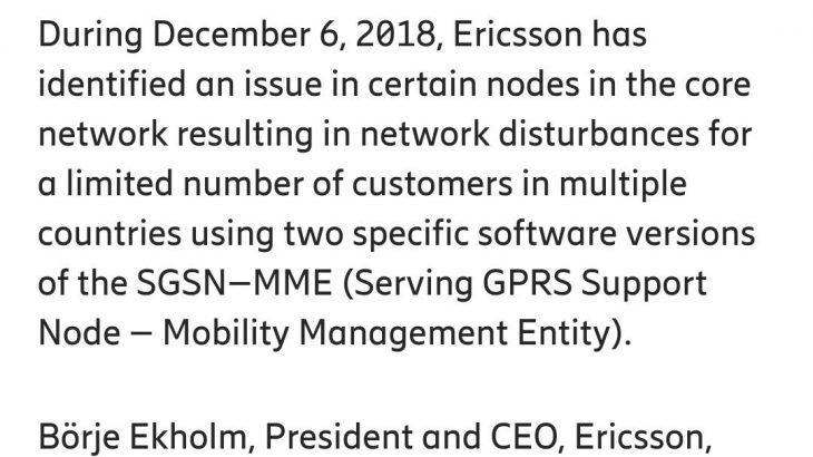 【通信】ソフトバンク、通信障害の原因はエリクソンであると発表★2