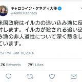 【捕鯨】「ツナミきても笑わないよう努めるよ」「もう一発、爆弾を落とせ」「五輪ボイコットを」日本のIWC脱退に批判コメント相次ぐ★5