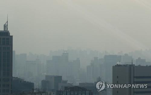 【ヘル朝鮮】全国各地で大気状態が「非常に悪い」 灰色の週末 韓国