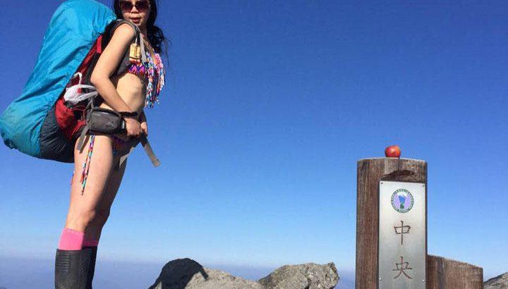 【登山】ビキニで登山する女性有名クライマー、山で凍死