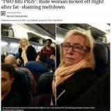 【米国】「右も左も肥満、座ってられない」ユナイテッド航空、肥満の乗客に挟まれ苦情を言った女性客を降機させる 同情の声も…★3